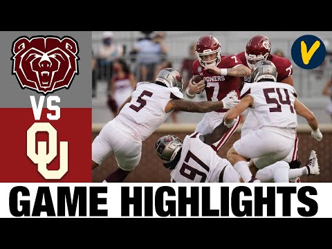 Missouri State vs #5 Oklahoma Highlights | Wk 2 College Football Highlights | 2020 College Football