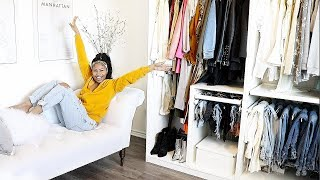MASSIVE CLOSET CLEAR OUT WITH ME!!