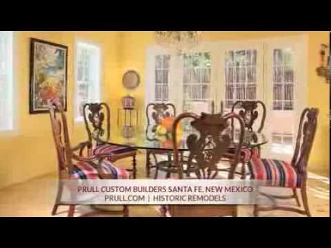 Prull Custom Home Builders in Santa Fe, New Mexico - Historic Remodels