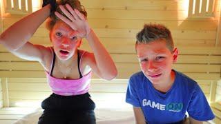 Last to Leave Sauna Challenge