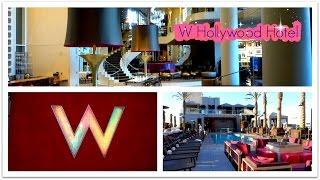 W Hollywood Hotel, Hollywood Boulevard, Los Angeles, Room, Lobby & Rooftop Pool