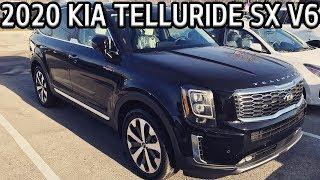 2020 Kia Telluride SX V6 Overview / Ride & Drive | Garrett Smith |  Kia Of Hamilton