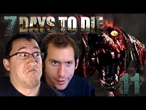 IT'S A DOGGY!!   7 Days To Die #11 - Smashpipe Games