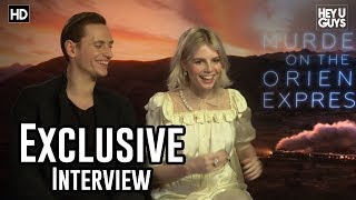 Lucy Boynton & Sergei Polunin | Murder on the Orient Express Exclusive Interview