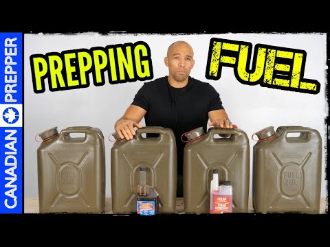 Stockpile Fuel Before SHTF: Do This Now
