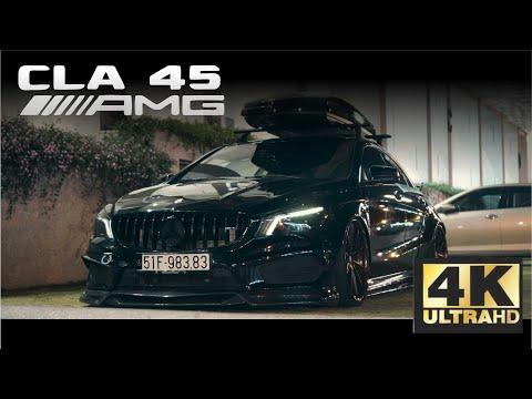BLACK DEVIL  MERCEDES CLA45 AMG   DD Media [4K]