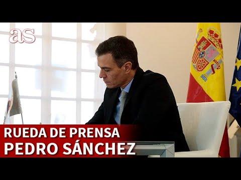 EN DIRECTO I Rueda de prensa de PEDRO SÁNCHEZ I Diario AS