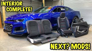 Rebuilding A Wrecked 2018 Camaro ZL1 Part 18