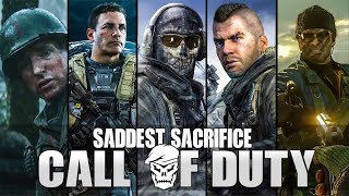 THE MOST SADDEST/HEROIC SACRIFICES MOMENTS in Call of Duty [ Modern Warfare - Black Ops Cold War ]