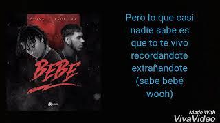 """Bebé"" Ozuna ❌ Anuel AA (Video Lyric)"