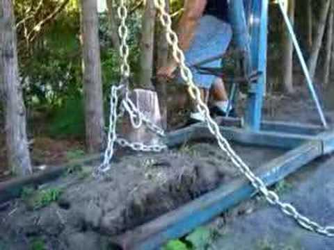 Odstraňovanie koreňa stromu bez ťažkej techniky