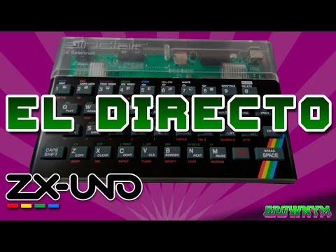 Primer directo ZX-Uno Go+