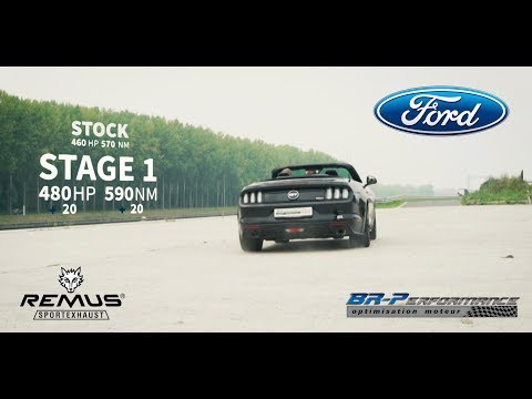Ford Mustang 5.0 V8 GT remap Stage 1 By BR-Performance