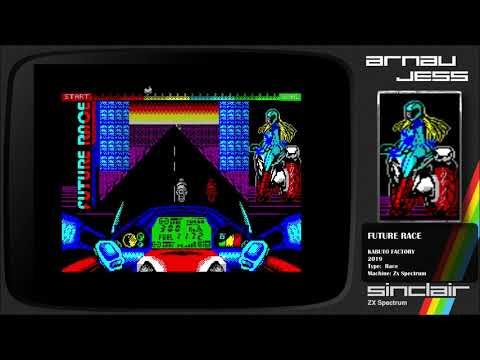 FUTURE RACER Zx Spectrum