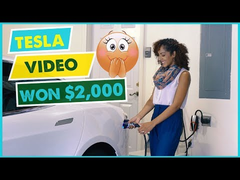 MY TESLA VIDEO WON $2,000! | Billion Dollar Unilever Brand Acknowledges Tesla