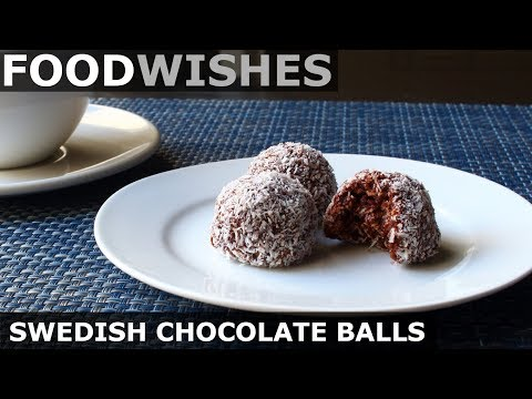 Swedish Chocolate Balls (Chokladbollar) - Food Wishes