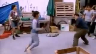Cô gái đánh võ quyền thái Cực chất