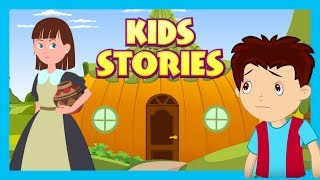 Kids Stories : The Lazy Girl and The Jack and The beanstalk     Animated Stories For Kids