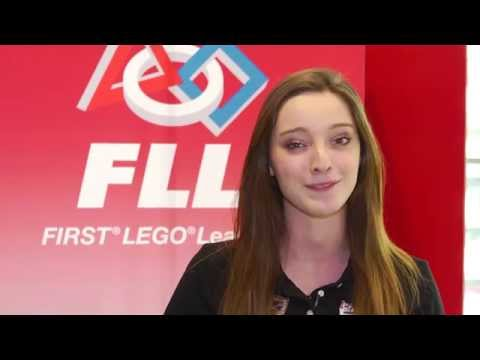 Emma Dumont & FIRST LEGO League (FLL)