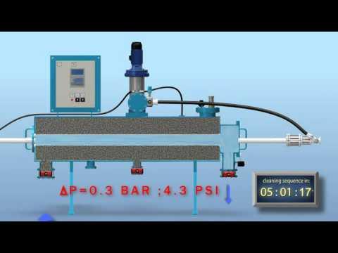 AMIAD AMF Vannrensesystem (Engelsk tale)