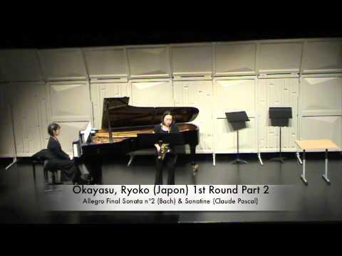 Okayasu, Ryoko (Japon) 1st Round Part 2