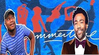 Summer Vibes Only!   Childish Gambino - Summertime Magic (Audio)   REACTION!