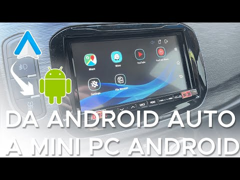 Android Auto diventa un mini PC Android  …