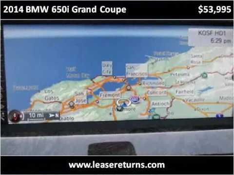 2014 BMW 650i Grand Coupe Used Cars San Ramon CA