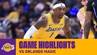 HIGHLIGHTS | Los Angeles Lakers vs. Orlando Magic
