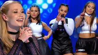 Iggy Azalea Can't Get Enough! BEATZ's Cover Of Ariana Grande's 'Problem' Has Judges Dancing!