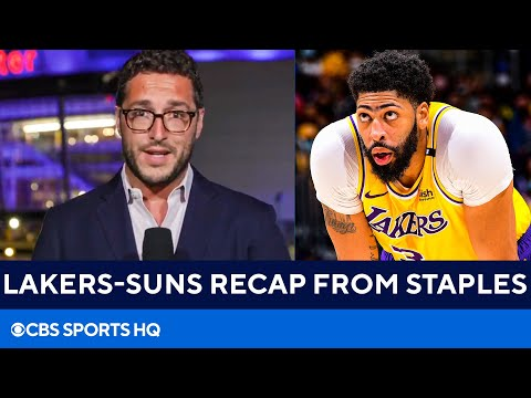 Lakers vs Suns Recap: Anthony Davis has monster game as Lakers take series lead | CBS Sports HQ