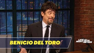 Benicio del Toro Talks Sicario: Day of the Soldado
