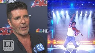 Simon Cowell Reacts To Tyler Butler-Figueroa's 'AGT' Finals Performance