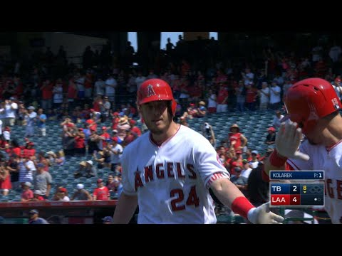 Los Angeles Angels Of Anaheim vs Tampa Bay Rays