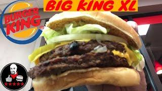 Burger King NEW BIG KING XL King review
