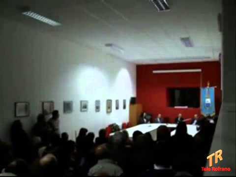 On. Luigi Cobellis - Rofrano 9 maggio 2010