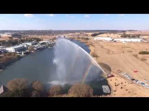 Sasol Inundator Super Pumper- first of its kind in Africa