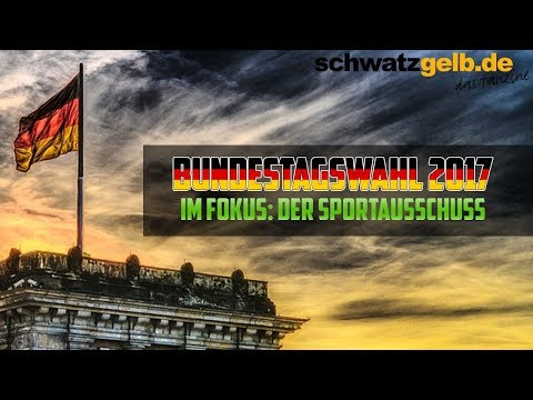 Bundestagswahl 2017 - Sportpolitik im Fokus