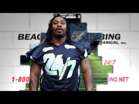 OFFICIAL Marshawn Lynch Beacon Plumbing Ad
