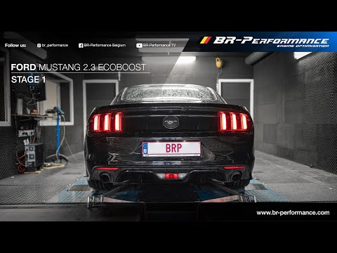 Ford Mustang 2.3 Ecoboost / Stage 1 By BR-Performance