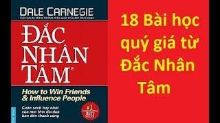 18 BÀI HỌC rút ra từ ĐẮC NHÂN TÂM - Dan Carnegie | Sách tinh gọn