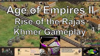 Aoe2 HD: Khmer Gameplay (Rise of the Rajas Expansion)