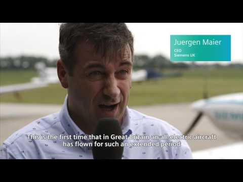 The eFusion electric plane takes first flight in UK for Goodwood FoS