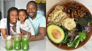 What We Eat in a Day | Healthy Vegan Family