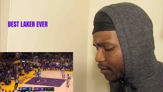 "BEST LAKER EVER?!?!?! ""Kyle Kuzma drops 41 Points full highlights Lakers vs Pistons""{reaction"