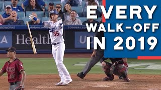 Every Dodgers Walk-Off in 2019 - (2020)