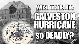 Deadliest Hurricane in the US: Galveston 1900