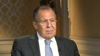 NBC to Lavrov: Why do you look unhappy on photos with Obama and happy on photos with Trump?