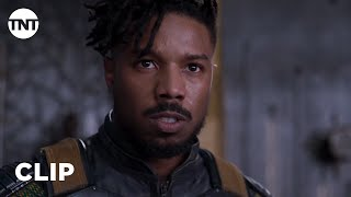Black Panther: Killmonger Challenges T'Challa to Ritual Combat [CLIP] | TNT