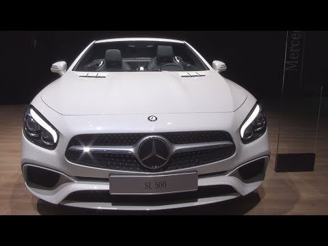 @MercedesBenz SL 500 Executive (2017) Exterior and Interior in 3D